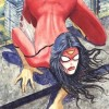 Was Spider-Woman Harmed in the Making of this Cover?