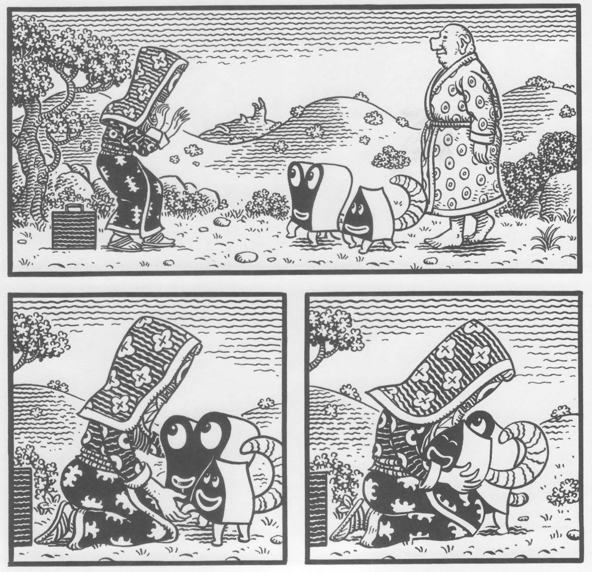 a short walk through the unifactor jim woodring frank and