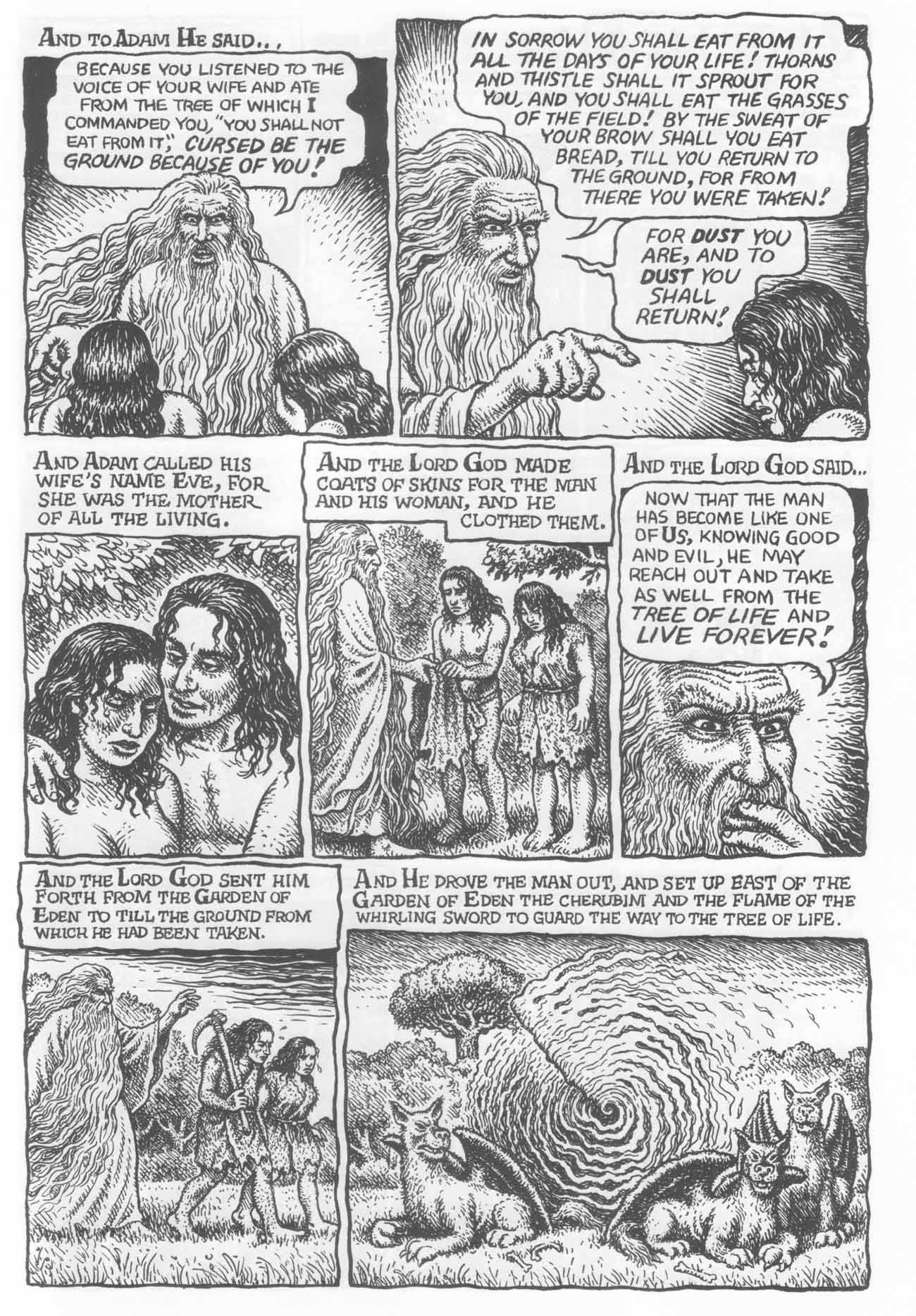 Robert Crumb s The Book of Genesis A Reply to Alan Choate The