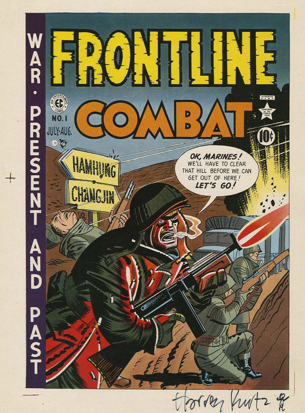 Frontline+Combat+cover+proof+with+signature