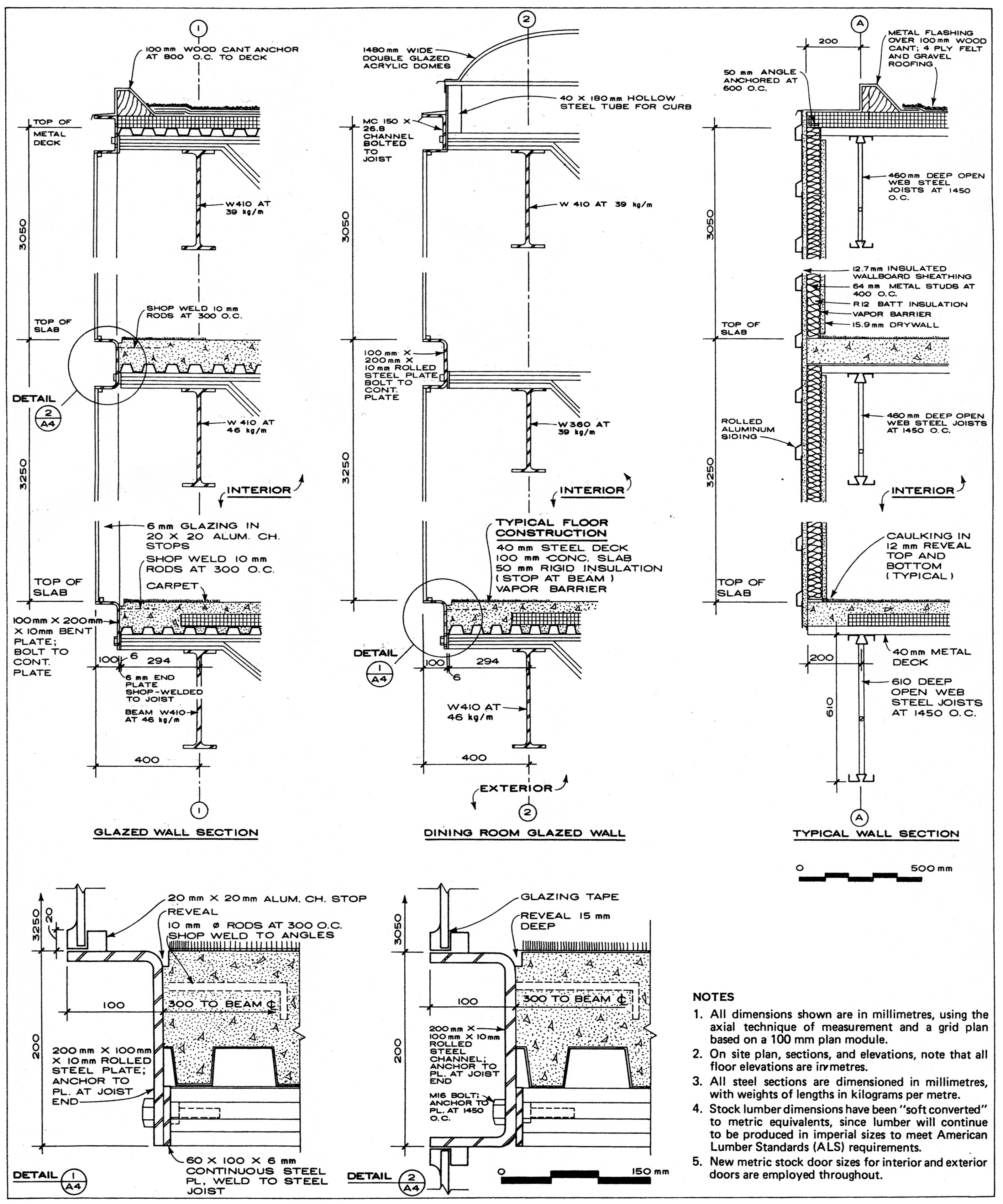 Arch-Detail-Sheet.jpg 3,200×3,840 pixels | Working details ...