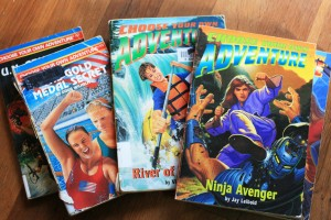 1990s Choose Your Own Adventures