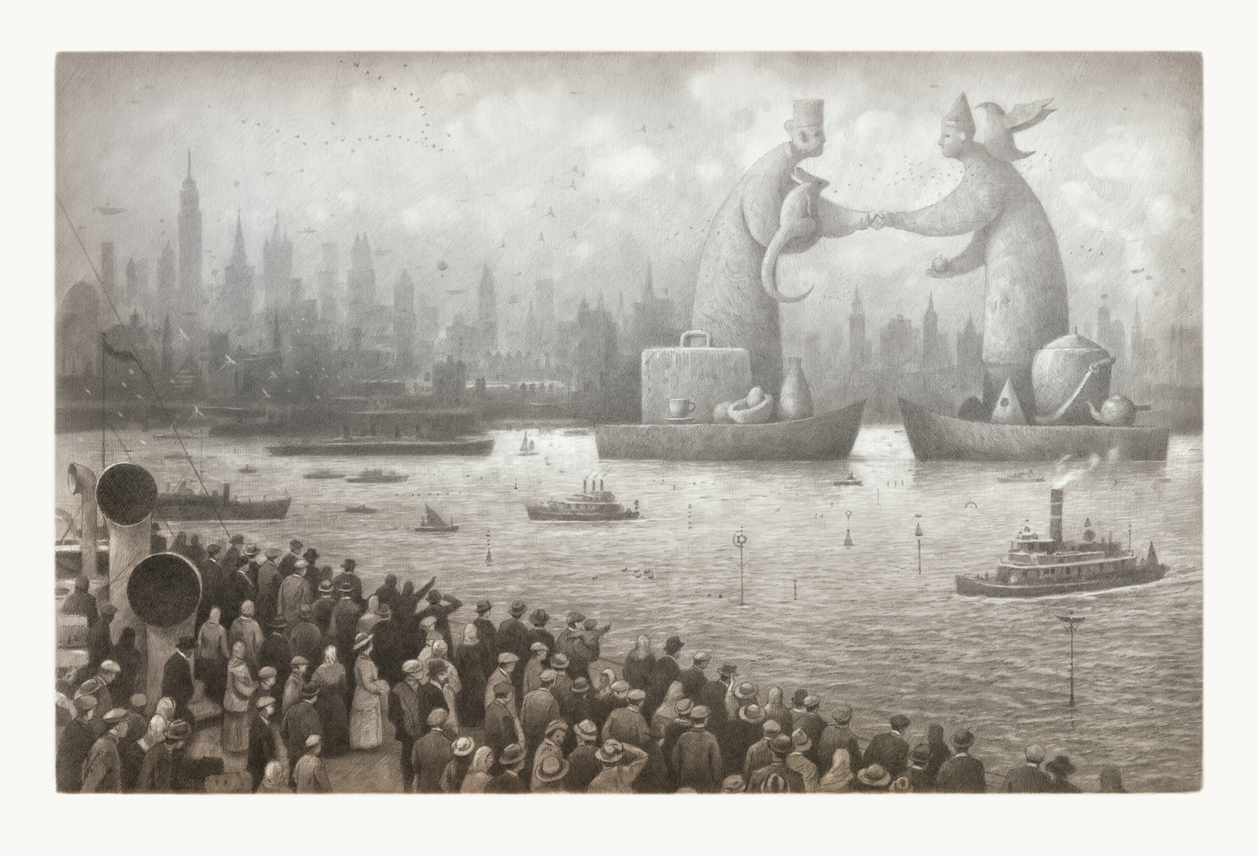 the arrival by shaun tan analysis This is shaun tan - the arrival animation by frederik vorndran on vimeo, the home for high quality videos and the people who love them.