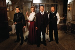photo of main characters (Murdoch, Crabtree, Ogden, Brackenreid)