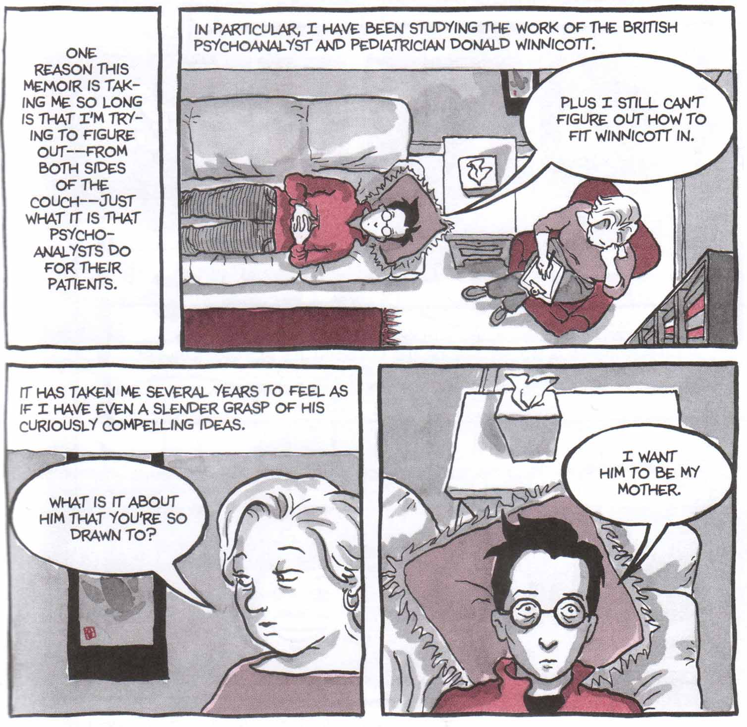 Alison Bechdel As A Child