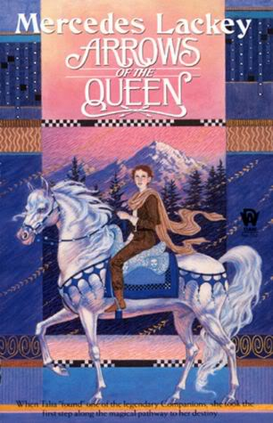 illsutration for the cover of Arrows of the queen