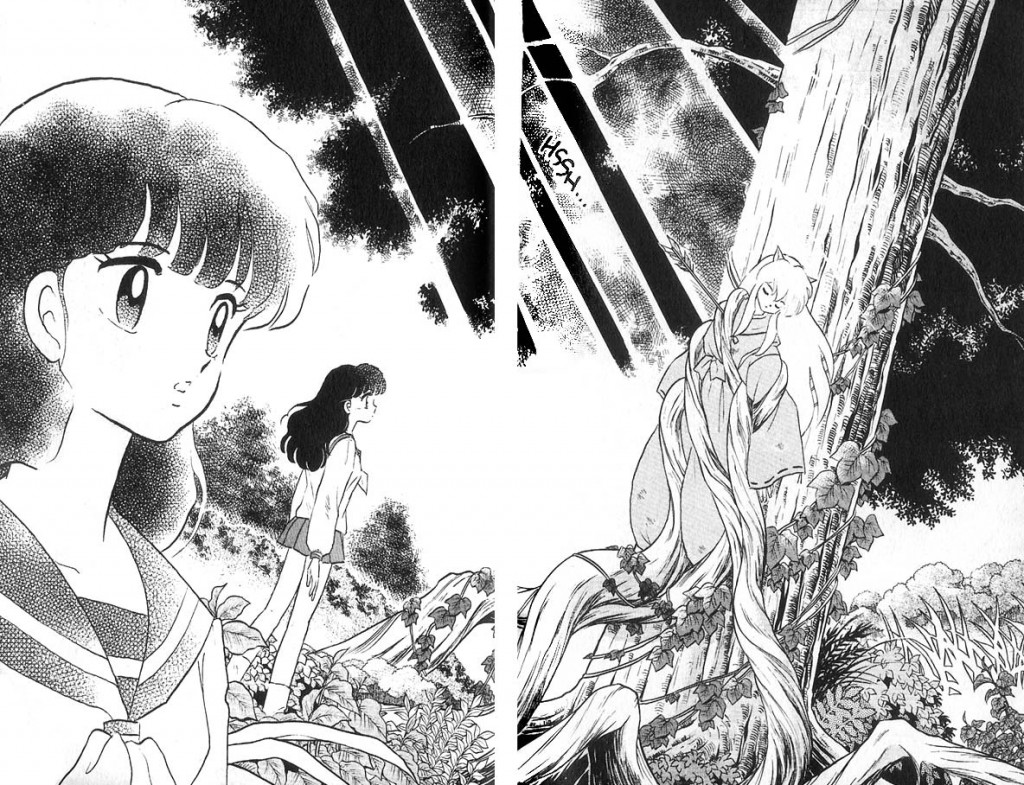 Inuyasha Double Page Spread