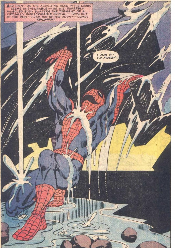 Spiderman Splash Page