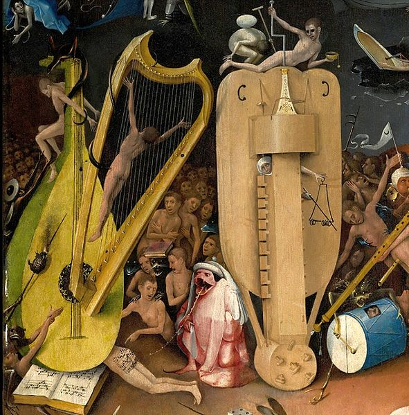 591px-Bosch,_Hieronymus_-_The_Garden_of_Earthly_Delights,_right_panel_-_Detail_musical_instruments_(left)