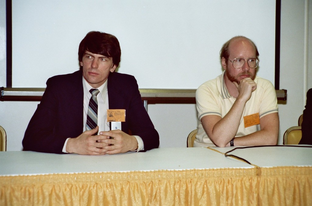 Jim Shooter and Steve Englehart, at the 1982 San Diego Comicon