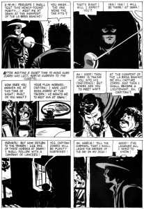 "Alex Toth, ""Zorro: Garcia's Secret,"" Four Color Comics #933, 1958"
