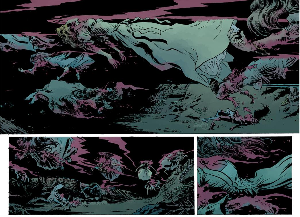 Script by Mike Mignola, Gabriel Bá and Fabio Moon. Art by Bá and Moon.