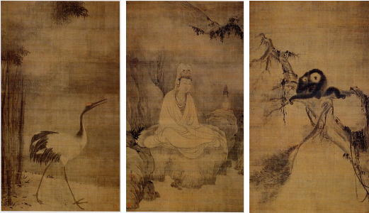 Guanyin,_Monkeys,_and_Crane