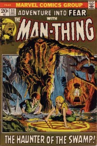 Adventure into Fear #11 (December 1972), Steve Gerber's solo scripting debut.