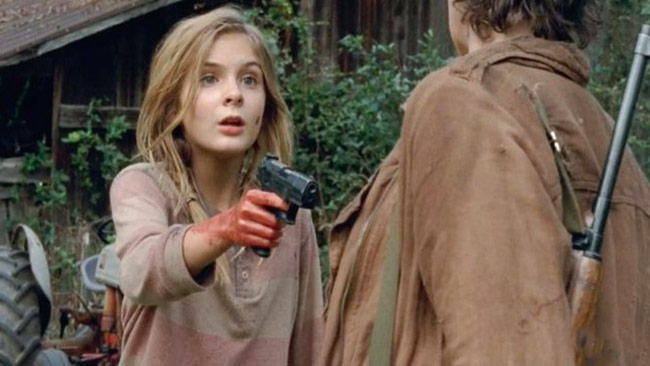 Walking Dead Lizzie Gun