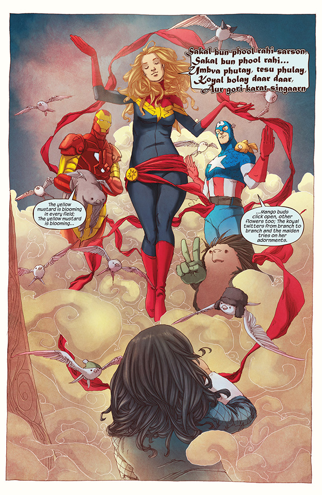 Ms Marvel Trinity