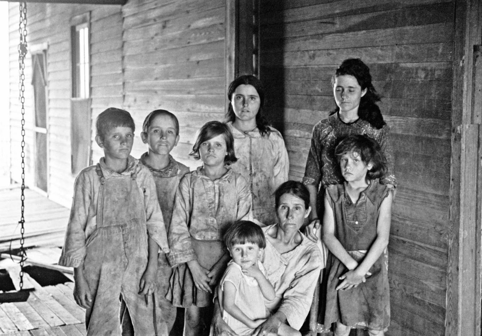 Walker+Evans+-+Frank+Tengle+family,+Hale+County,+Alabama.+Sharecroppers,+1936