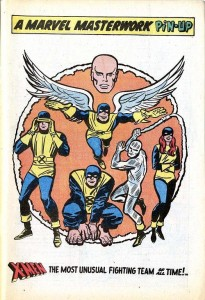 Source: unpublishedxmen.blogspot.com.au/2014/01/x-men-t-shirt.html. Jack Kirby and Chic Stone
