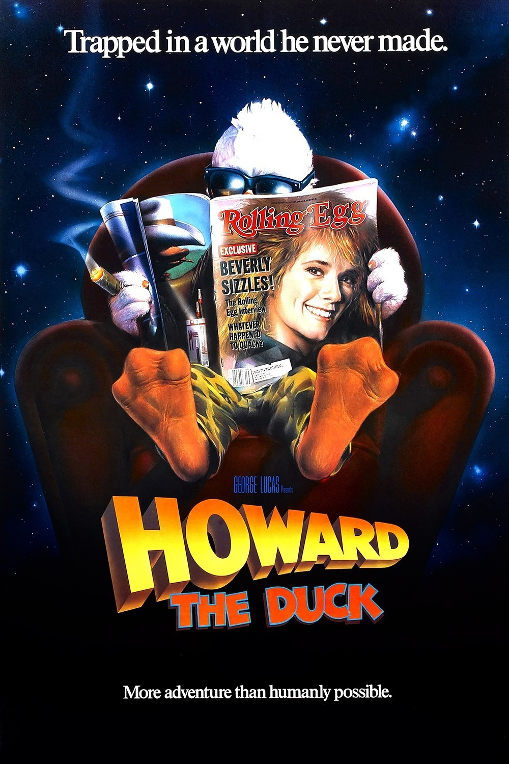 Howard The Duck Movie Poster and Howard the Duck   The